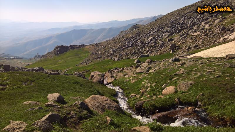 مسیر  قله الوند همسفر باشیم