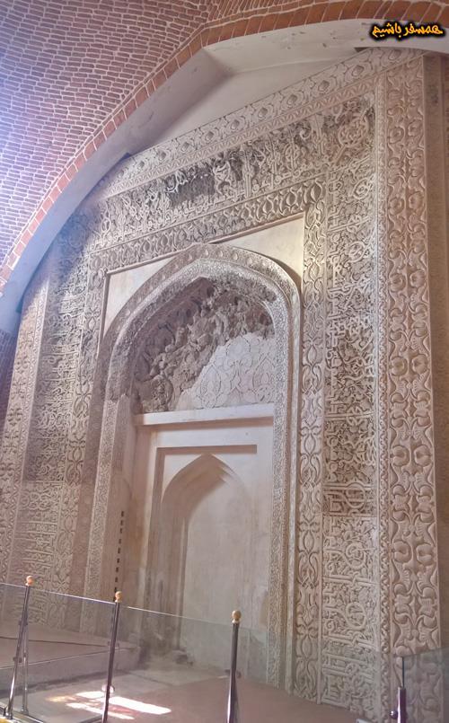 محراب مسجد جامع همسفر باشیم