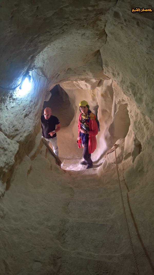 غار خربس جزیره قشم همسفر باشیم